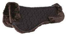 Fuzzy - Lambswool Saddle Half Pad