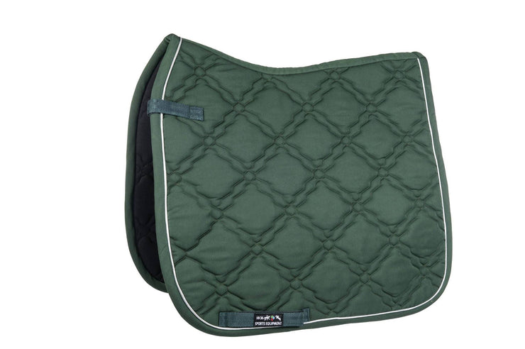 Quilted Saddle Pad - Blue