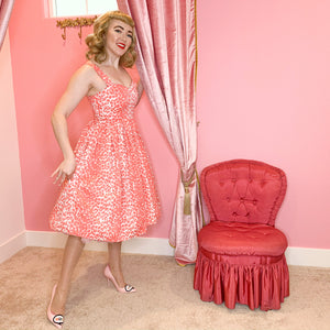 The Marilyn Dress Leopard Print