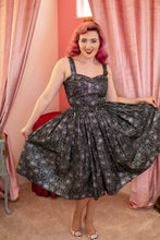 Load image into Gallery viewer, The Marilyn Dress - Spider Web Print