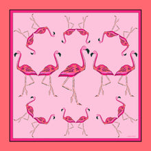 Load image into Gallery viewer, Flamingle Silk Charmeuse Scarf