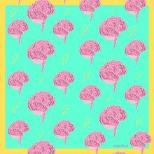 Load image into Gallery viewer, I Love Your Brain Silk Charmeuse Scarf