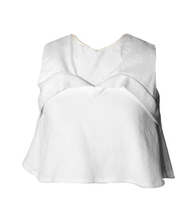 Marilyn Organic Cotton Pique Swing Top