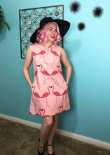 Load image into Gallery viewer, The Flamingo Pink Shift Dress