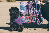 Long Exposure Dog Harness Backpack