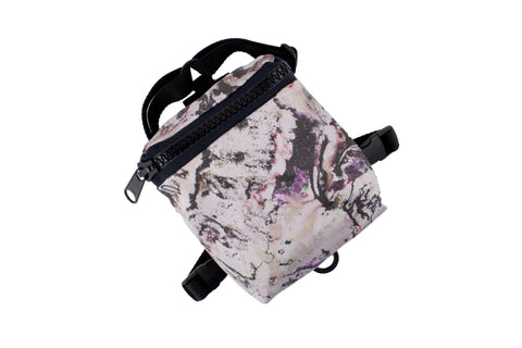 Marbleized Dog Harness Backpack