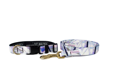Geo Mirrors Collar  + Leash
