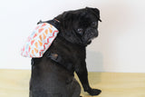 Toad's Favorite Foods Print Dog Harness Backpack
