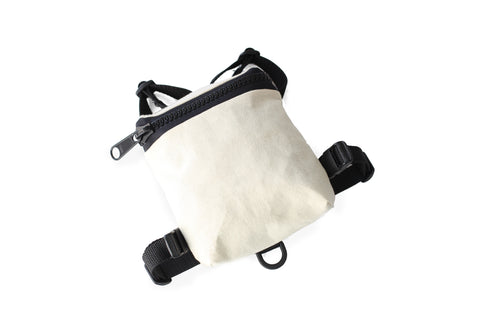 Natural Canvas Dog Harness Backpack