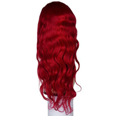 Red Sapphire Front Lace Wig