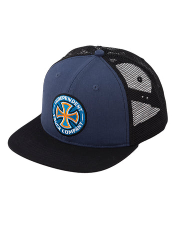 "Independent - Gorro Trucker ""Colors Logo"" Blue/Black"