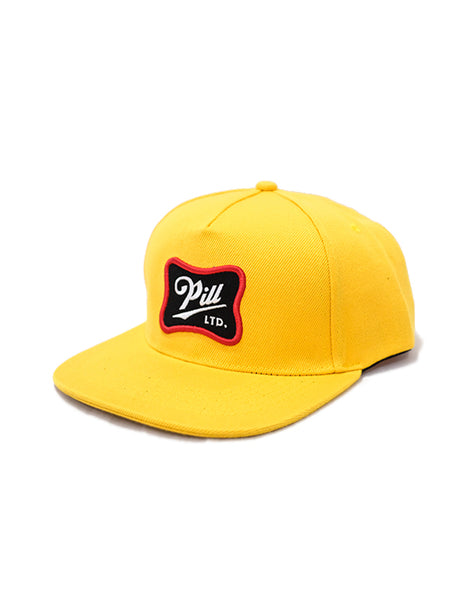 Pill - Patch Cap Yellow