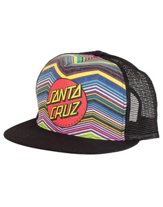 "Santa Cruz - Gorro Trucker ""Classic Dot"" Multi Chevron (1489408327739)"