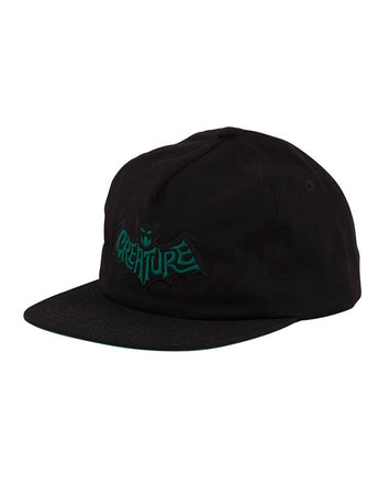 Creature - Batty Black Snapback