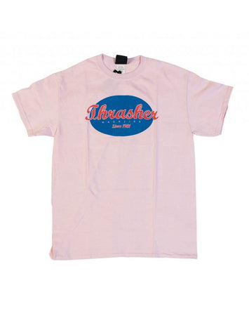 Thrasher - Oval Shirt Pink