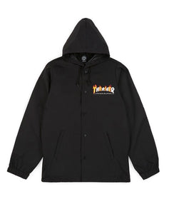 "Thrasher - Jacket ""Flame Mag"" Black"