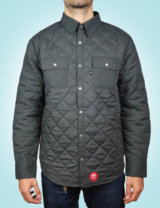 Pill - Chaqueta Diamond Quilt - Charcoal Black