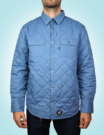 Pill - Chaqueta Diamond Quilt - Denim Blue