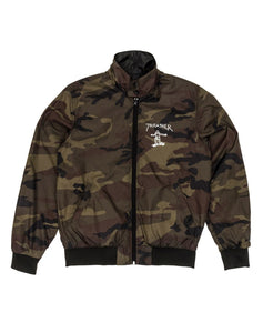 "Thrasher - Jacket ""Gonz Reversible"" Camo/Black"