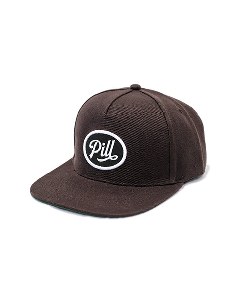 "Pill - Gorro Snapback ""Ford"" Brown (1489385062459)"