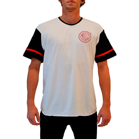 "Pill – Polera ""Seal"" White"