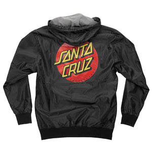 Santa Cruz - Chaqueta Dot Hooded Black