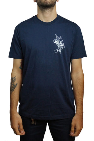 "Independent - Polera ""Pool Scum"" ‐ Navy"