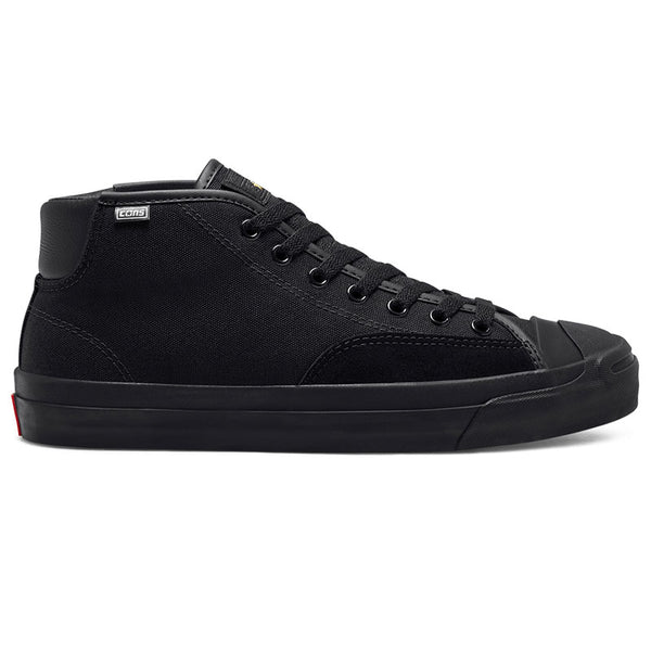 Converse Cons - Jack Purcell Pro Mid BLACK/ENAMEL RED