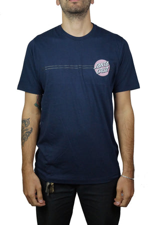 "Santa Cruz - Polera ""Other Dot"" - Navy"