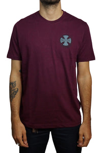 "Independent - Polera ""Two Tone"" ‐ Maroon"