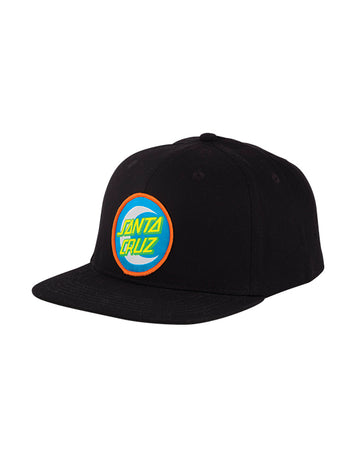 Santa Cruz - Moon Dot Badge Black