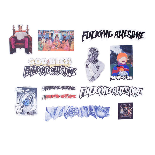 Fucking Awesome - FA Sticker Pack 2 (12 unidades)