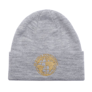 Fucking Awesome - Gorro Beanie FA World Entertainment Grey