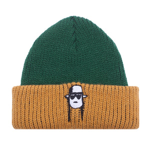 Fucking Awesome - Gorro Beanie Spike Green/Yellow
