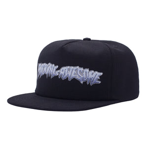 Fucking Awesome - Gorro 5 Panel Chrome Black