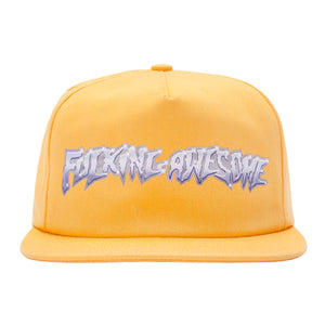 Fucking Awesome - Gorro 5 Panel Chrome Gold