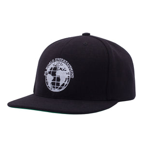 Fucking Awesome - Gorro 6 Panel FA World Entertainment Black