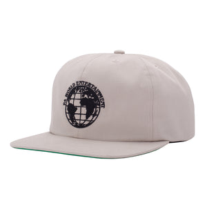 Fucking Awesome - Gorro 6 Panel FA World Entertainment Stone