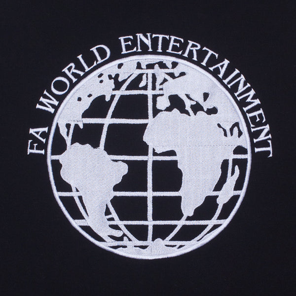 Fucking Awesome - Poleron Canguro FA World Entertainment Bordado Black