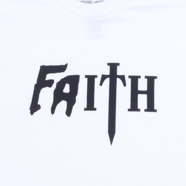 Fucking Awesome - Polera Faith White