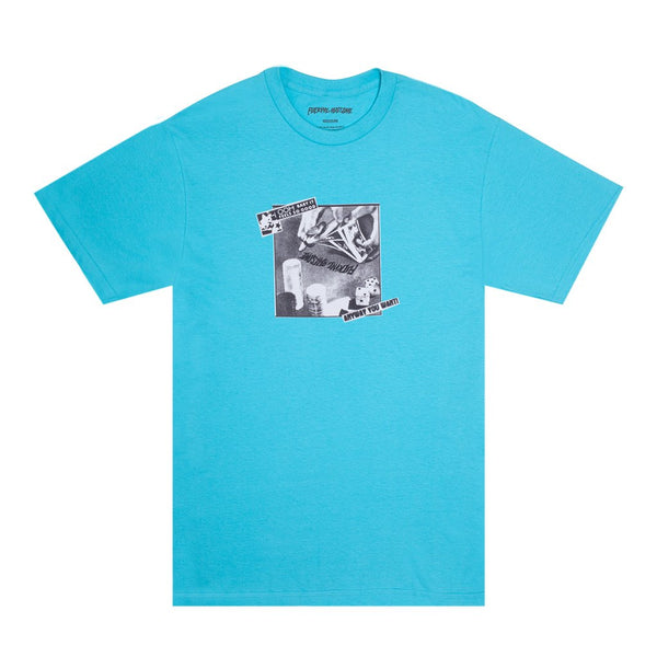 Fucking Awesome - Polera Oh Baby Lagoon Blue