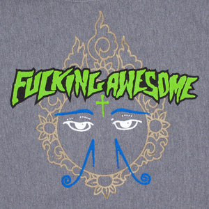 Fucking Awesome - Poleron Canguro Hindu Eyes Grey