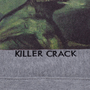 Fucking Awesome - Poleron Canguro Killer Crack Grey