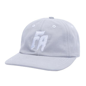 Fucking Awesome - Gorro Strapback Unstructured Seduction Of The World Grey/White