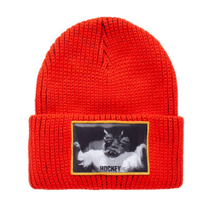 Fucking Awesome - Gorro Beanie FA/Hockey Hologram Red