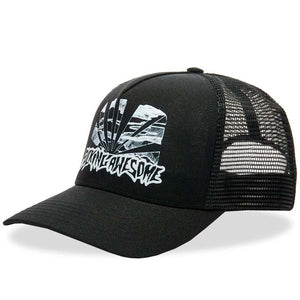 Fucking Awesome - Gorro Snapback Sunset Pre-Curved Black