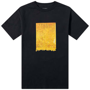 Fucking Awesome - Polera Gold Hieroglyphic Black