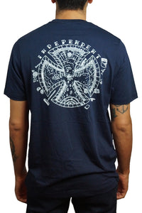 "Independent - Polera ""Pool Scum"" ‐ Navy (2244893179963)"