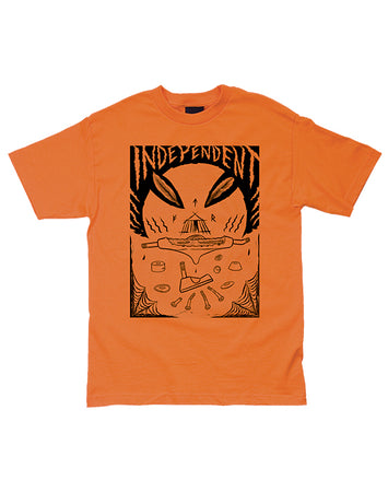 "Independent - Polera ""Hitz Ritual Decomissioning"" Orange"