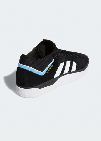 adidas - TYSHAWN - Black/White/Light Blue
